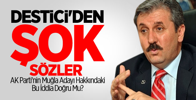 Mustafa Destici'den Şok AK Parti Açıklaması