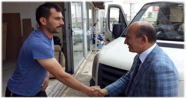 Esnafın umudu MHP kadroları!.. Mustafa Erdem DUR DURAK BİLMİYOR...