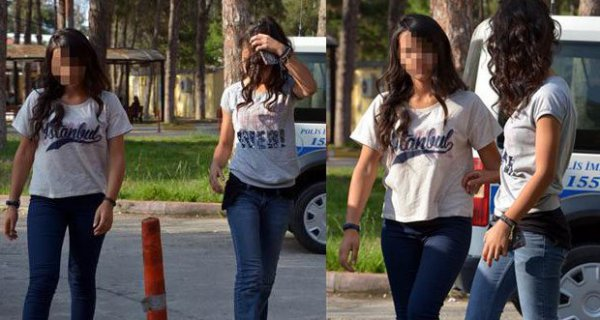 Hırsızlık yaparken polise yakalanan liseli kızlar: Heyecan olsun diye yaptık