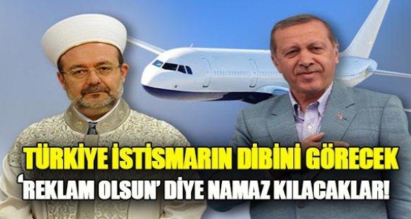 Bu film Türkiye'yi sallayacak! Erdoğan-Görmez reklam için birlikte namaz kılacaklar..!