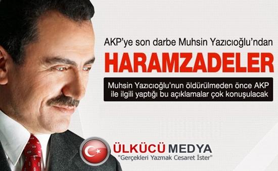 Muhsin Yazıcıoğlu'da Akp'ye Haramzadeler Demiş İşte o Video !