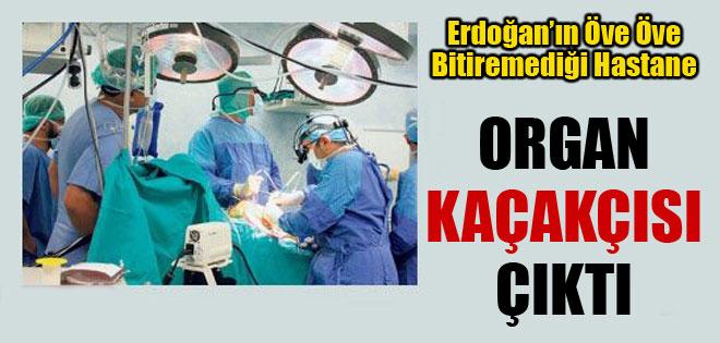 Erdoğan'ın öve öve bitiremediği hastane, organ kaçakçılığında bir numara çıktı !