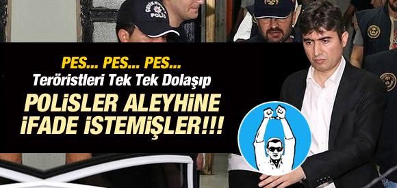POLİSLER TUTUKLAMAK İÇİN TERÖRİSTLERDEN YARDIM İSTEMİŞLER !