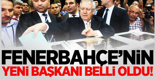 Fenerbahçe Başkanını Seçti