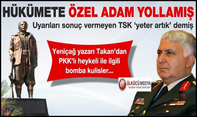 """TSK HÜKÜMET ARASINDA """"TERÖRİST HEYKEL"""" KRİZİ..."""