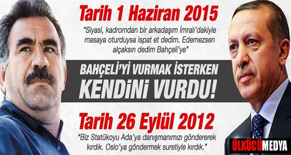 Erdoğan, Bahçeli'yi Vurmak İsterken Kendini Vurdu