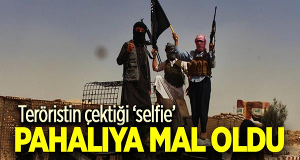 IŞİD militanının çektiği selfie pahalıya mal oldu
