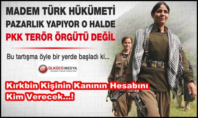 AKP SAYESİNDE PKK TERÖR ÖRGÜTÜ OLARAK GÖRÜLMEYECEK...!