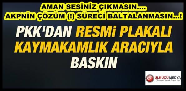 AKP PKK MÜZAKERELERİ SONUCUNDA BUNU DA GÖRDÜK...!