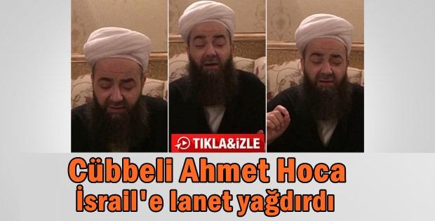 Cübbeli Ahmet Hoca'dan Katil İsrail'e beddua VİDEO