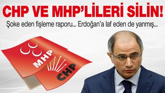 AKP'Lİ EFKAN ALA: CHP VE MHP'LİLERİ SİLİN !