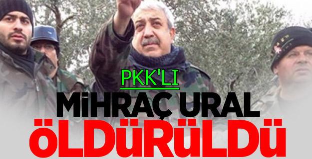 PKK'lı Terörist Mihraç Ural Öldürüldü