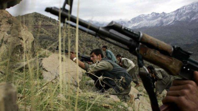 PKK'dan Dağlıca Üs Bölgesi'ne Uçaksavar Makinalı Tüfekle Saldırı