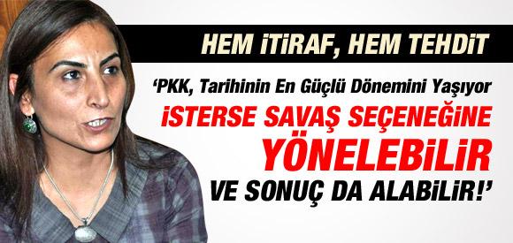 """""""AKP'NİN BAŞKA ŞANSI YOK"""" DİYEN TUĞLUK'TAN PKK TEHDİDİ !"""