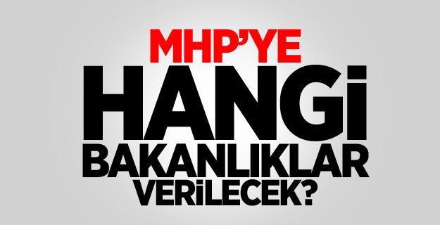 MHP'ye Verilmesi Düşünülen Bakanlıklar