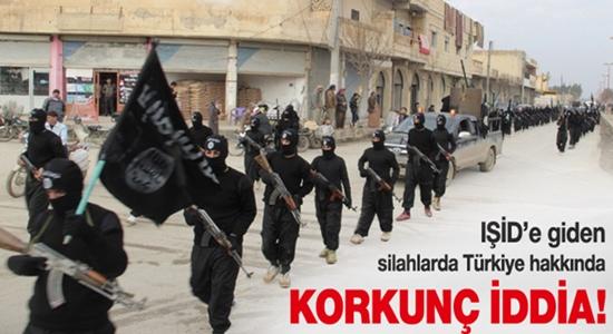 TÜRKİYE IŞİD'E GİDEN SİLAHLARA MÜSAADE ETTİ