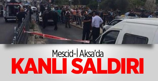 Mescid-İ Aksa'da Kanlı Saldırı