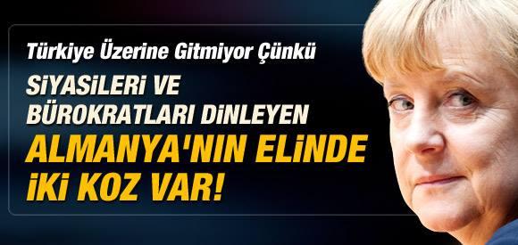 TÜRKİYE'Yİ DİNLEYEN ALMANYA'DA 2 KOZ VAR.....!