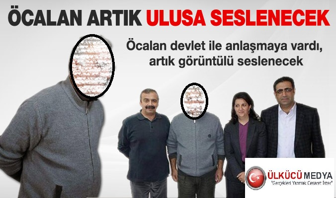 İMRALI CANİSİ AKP SAYESİNDE  ARTIK ULUSA SESLENİŞ YAPACAK...!