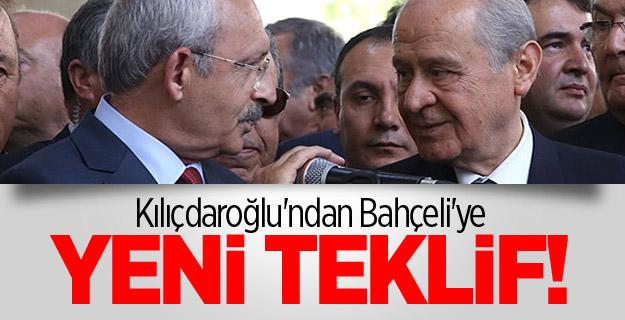 Kılıçdaroğlu'ndan Bahçeli'ye Yeni Teklif!