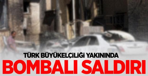 Türk Büyükelçiliği Yakınında Bombalı Saldırı