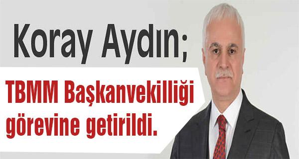 MHP'nin TBMM Başkanvekili Koray Aydın