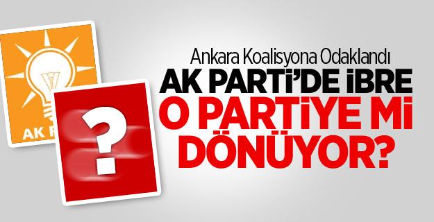 AK Parti'de İbre O Partiye Mi Dönüyor?