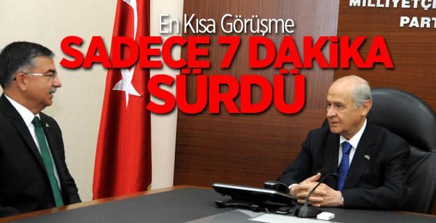 İsmet Yılmaz MHP Lideri Devlet Bahçeli İle Görüştü