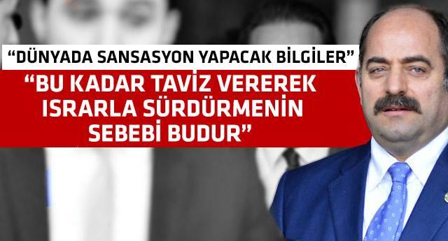 Zekeriya Öz'den Ankara'yı sarsacak bomba iddia ...!