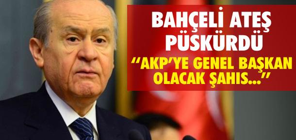 DEVLET BAHÇELİ ATEŞ PÜSKÜRDÜ !