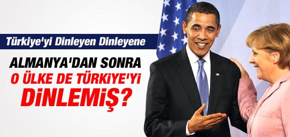 ALMANYA'DAN SONRA ABD'DE TÜRKİYE'Yİ DİNLEMİŞ !
