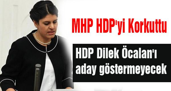 MHP HDP'yi Korkuttu