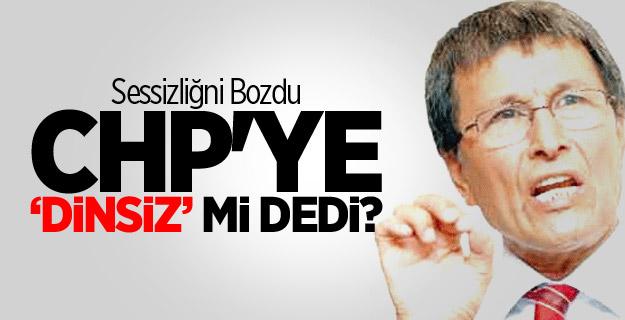 Yusuf Halaçoğlu'ndan CHP'ye 'Dinsiz' Cevabı