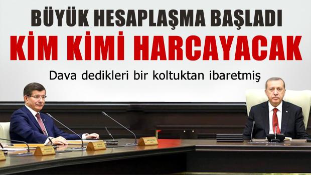 Erdoğan, Davutoğlu'nu GÖZDEN ÇIKARDI