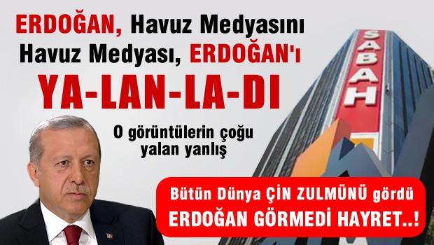 Erdoğan Havuz Medyasını, Havuz Medyası Erdoğan'ı yalanladı