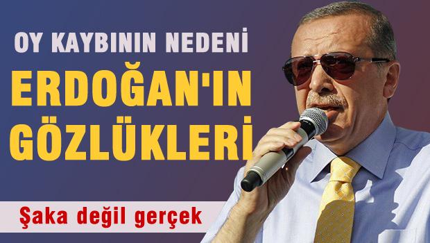 AKP'nin Oy Kaybının Nedeni Gözlükler !