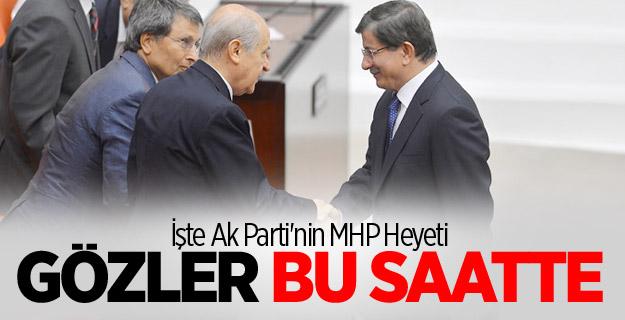 İşte Ak Parti'nin MHP Heyeti