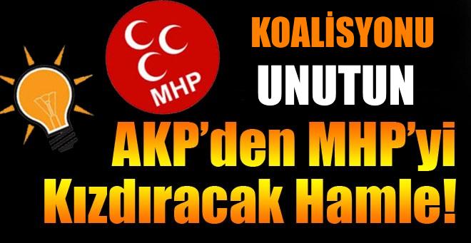 AKP'den MHP'yi kızdıracak hamle