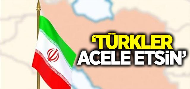 'TÜRKLER ACELE ETSİN'