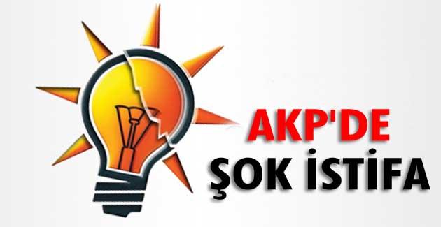AKP'DE İSTİFALAR BAŞLADI !