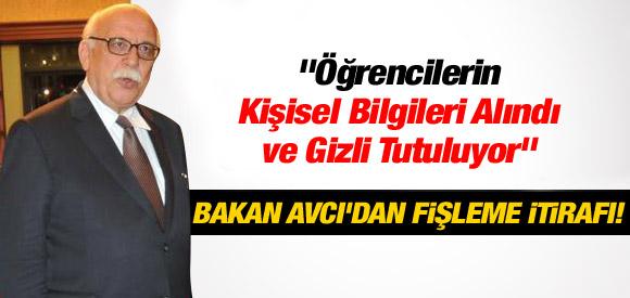 BAKAN NABİ AVCI'DAN GÜNDEMİ SARSACAK İTİRAF !