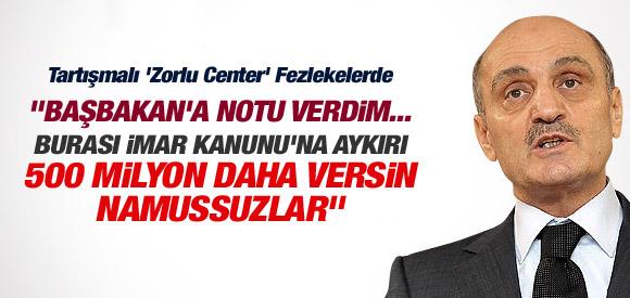 """""""500 MİLYON DAHA VERSİN NAMUSSUZLAR"""""""