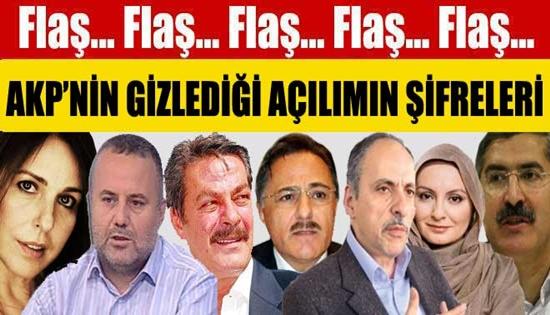 AKP'NİN GİZLEDİĞİ AÇILIMIN ŞİFRELERİ !