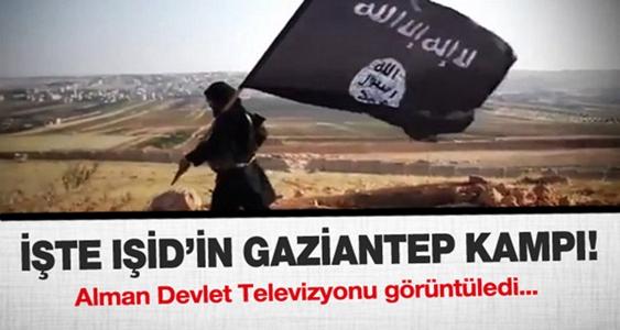 İŞTE GAZİANTEP'TEKİ IŞİD KAMPI !
