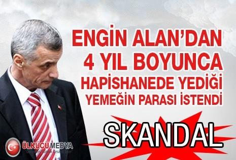 ENGİN ALAN'DAN YEDİĞİ YEMEĞİN PARASI İSTENDİ !