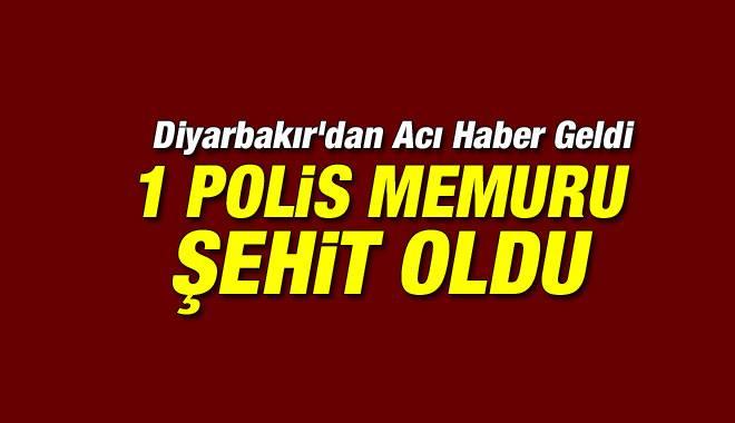 Diyarbakır'da Polise Silahlı Saldırı: 1 Şehit
