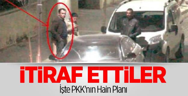 İşte PKK'nın Hain Planı