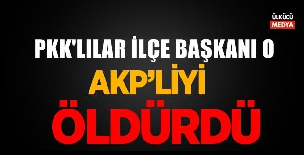 AKP'li Başkan Yardımcısı Silahlı Saldırıda Hayatını Kaybetti