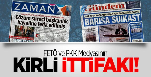 FETÖ ve PKK Medyasının Kirli İttifakı!