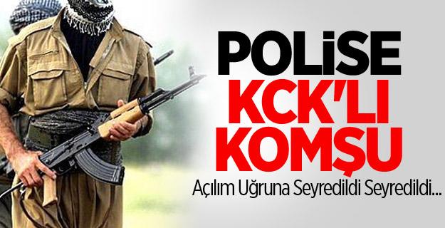 KCK Polise Komşu Oldu